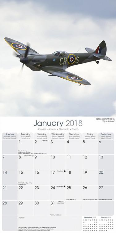 Kalendár 2018  Spitfires