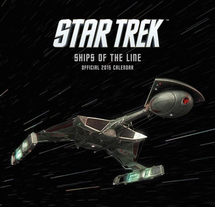 Kalendár 2017 Star Trek