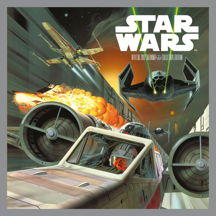 Kalendár 2017 Star Wars