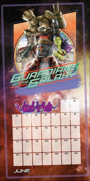 Kalendář 2020  Strážci Galaxie