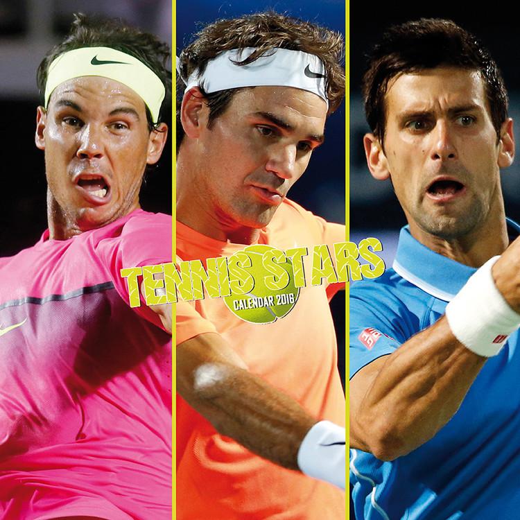 Kalendář 2017 Tennis