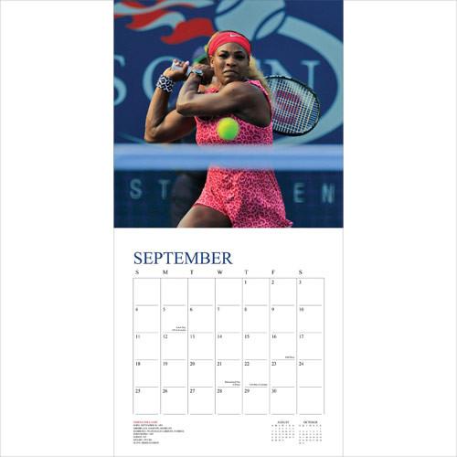 Kalendár 2018  Tennis