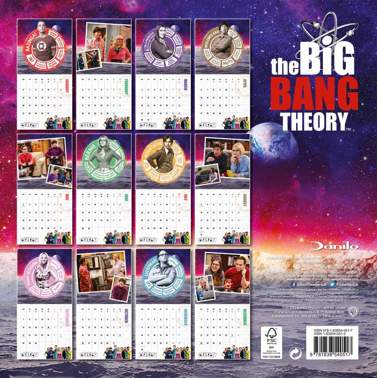 Kalendář 2021 Teorie Velkého Třesku