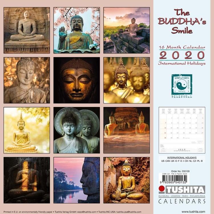 Kalendář 2020 The Buddha's Smile