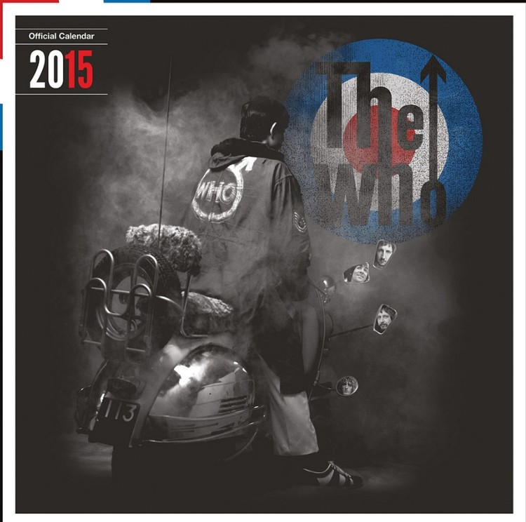 Kalendár 2017 The Who