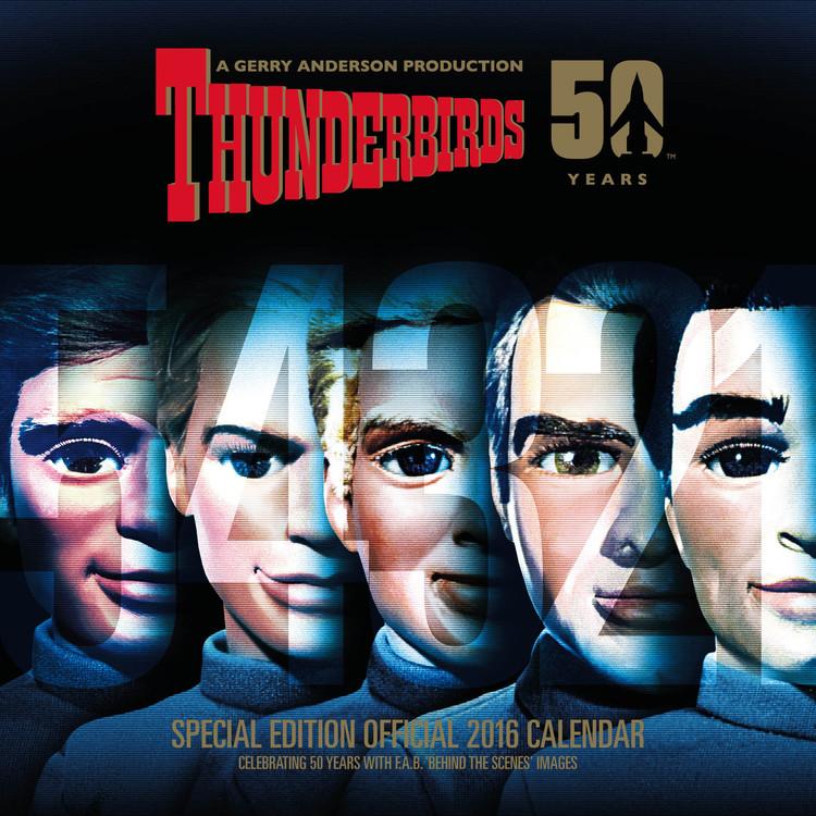 Kalendář 2017 Thunderbirds - Classic Edition