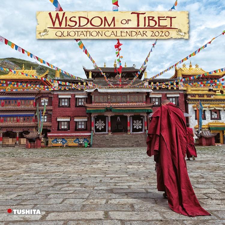 Kalendář 2020 Tibet
