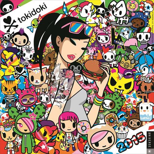 Kalendár 2017 Tokidoki