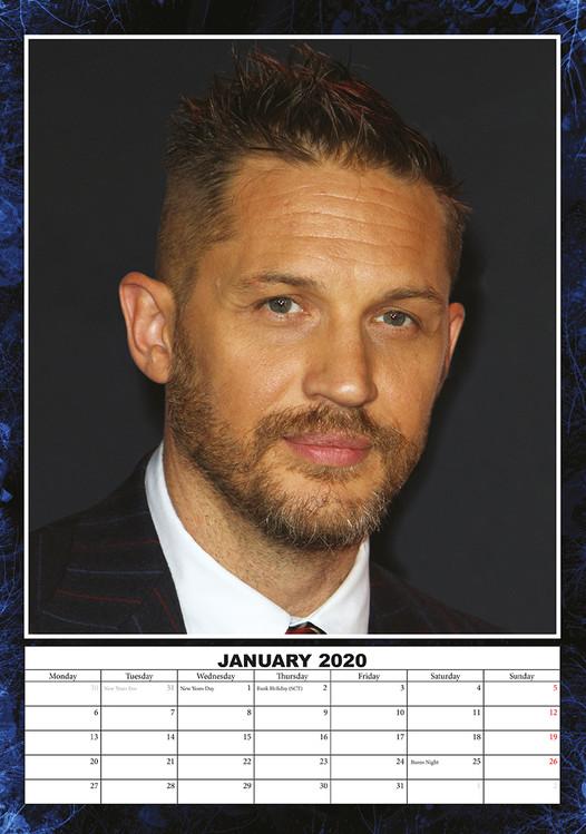Kalendář 2021 Tom Hardy