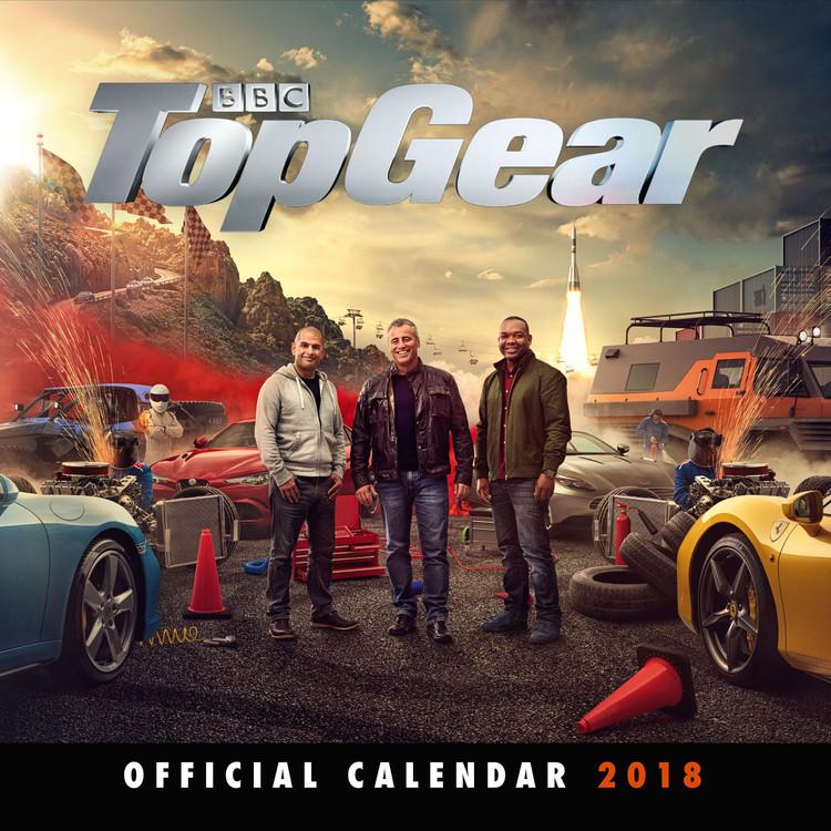 Kalendář 2018 Top Gear