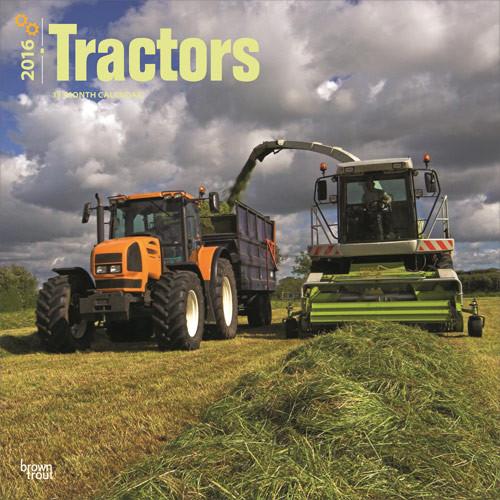 Kalendár 2017 Traktory