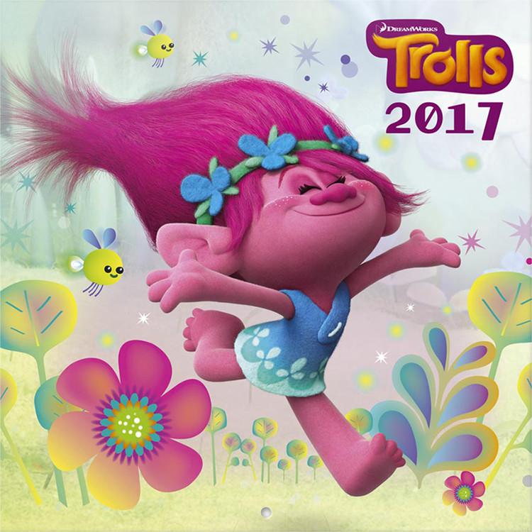 Kalendář 2017 Trollové