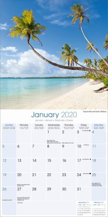 Kalendár 2020  Tropical Islands