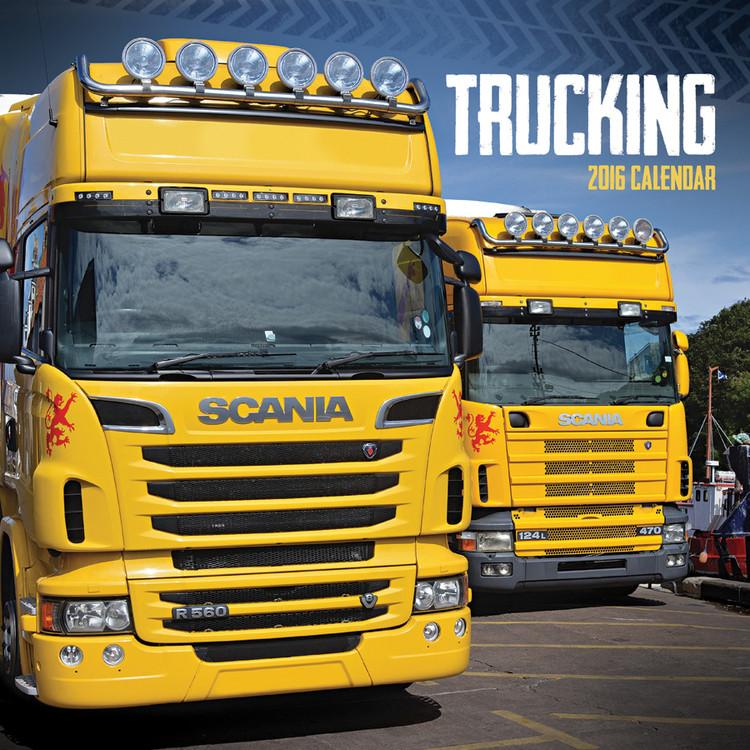 Kalendář 2017 Trucking