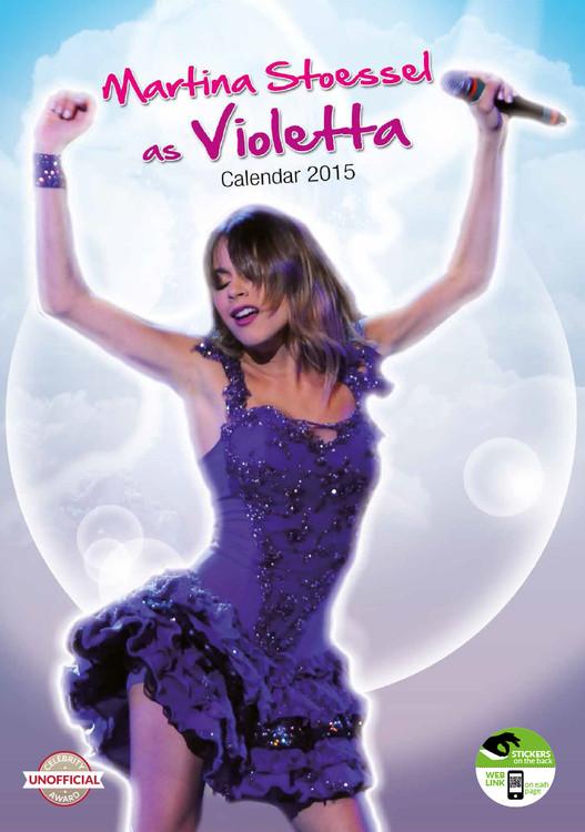 Kalendár 2017 Violetta
