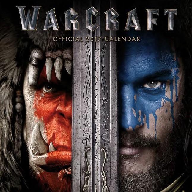 Kalendář 2018 WarCraft