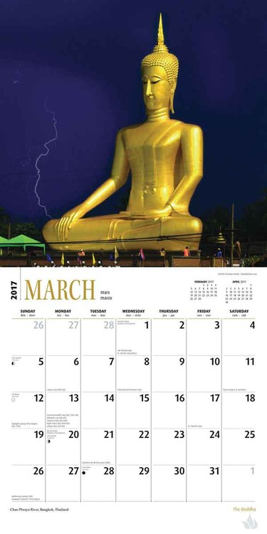 Buddha Kalendar 2017