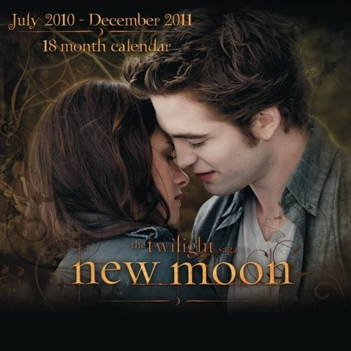 Calendar 2011 - TWILIGHT NEW MOON / EDWARD Kalendar 2018