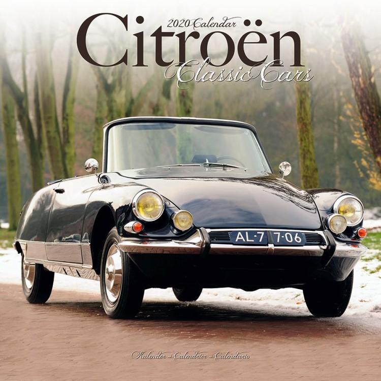 Citroen Classic Cars Kalendar 2021