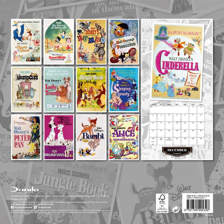 Disney Vintage Kalendar 2020