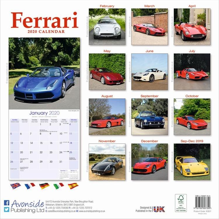 Ferrari Kalendar 2020