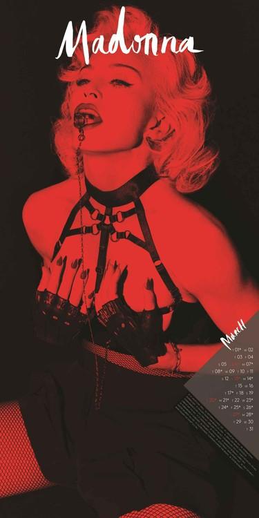 Madonna Kalendar 2018