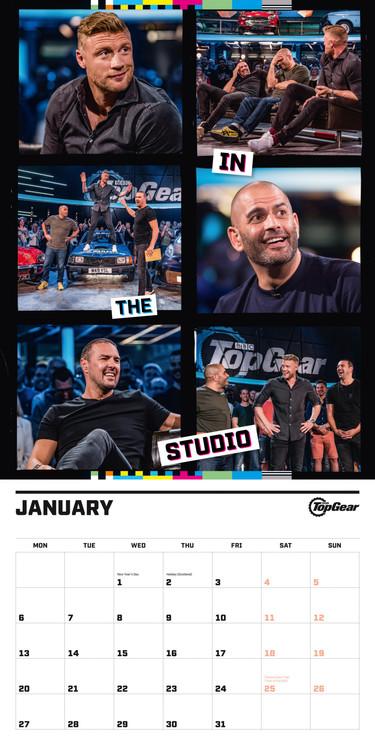 Top Gear Kalendar 2020