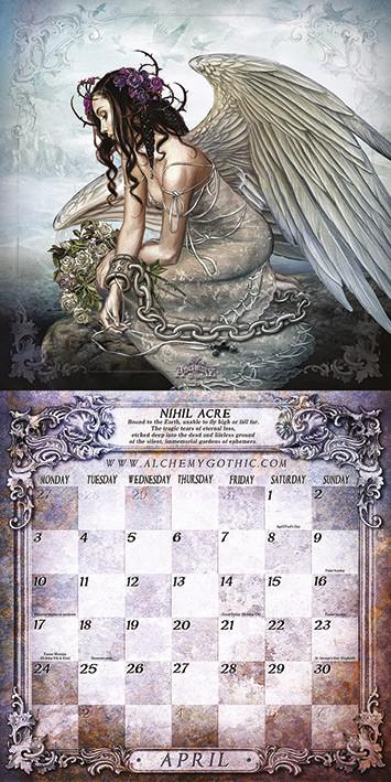 Alchemy Kalendarz 2018