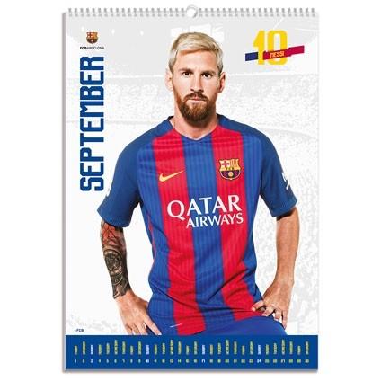 Barcelona Kalendarz 2018