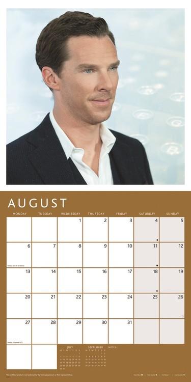Benedict Cumberbatch Kalendarz 2019
