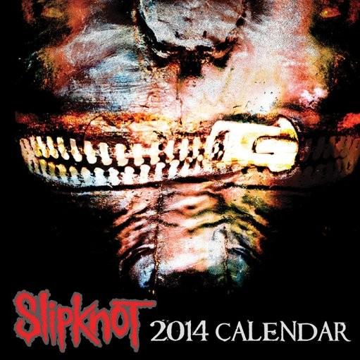 Calendar 2014 - SLIPKNOT Kalendarz 2017