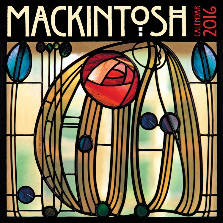 Charles Rennie Mackintosh Kalendarz 2017