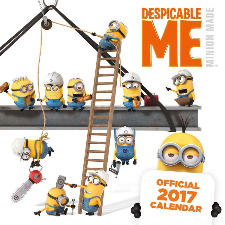 Despicable Me Kalendarz 2018