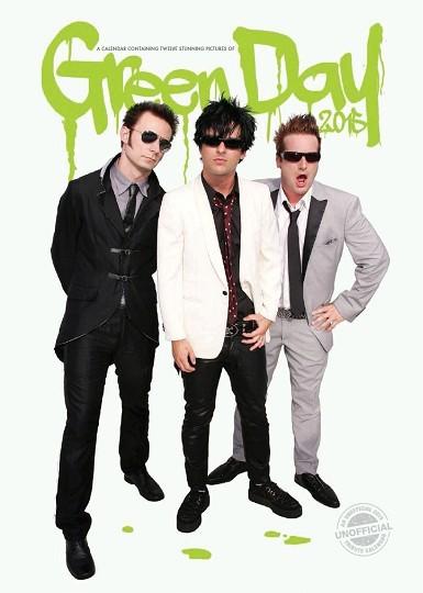 Green Day Kalendarz 2018