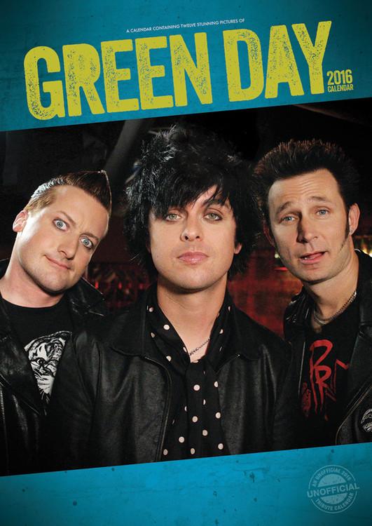 Green Day Kalendarz 2017