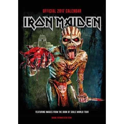 Iron Maiden Kalendarz 2017