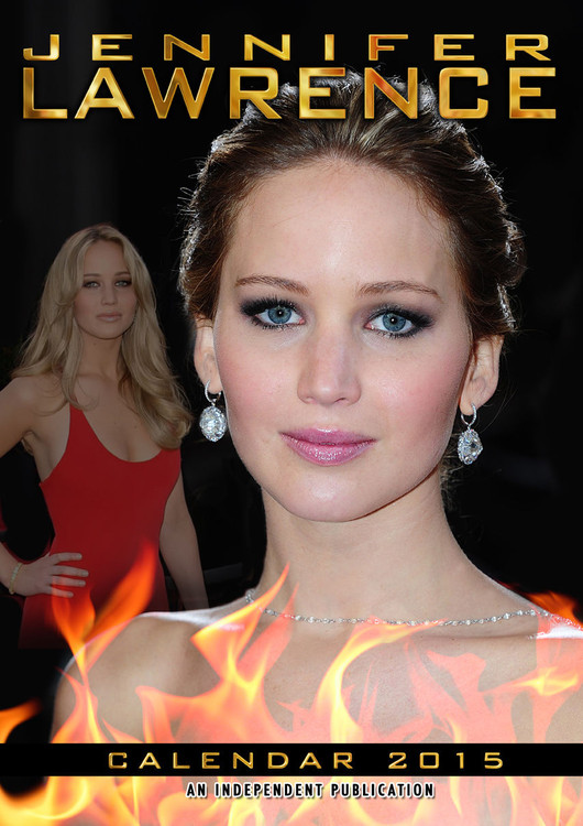 Jennifer Lawrence Kalendarz 2017