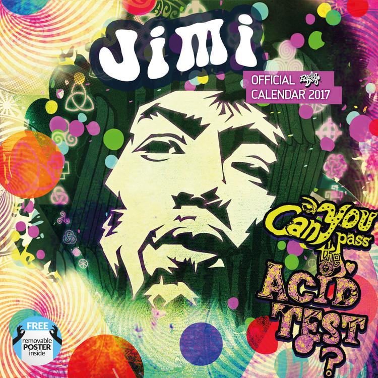 Jimi Hendrix Kalendarz 2017