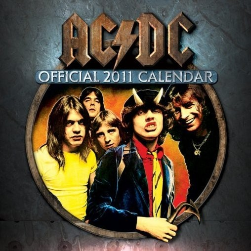 Kalendář 2011 - AC/DC Kalendarz 2017