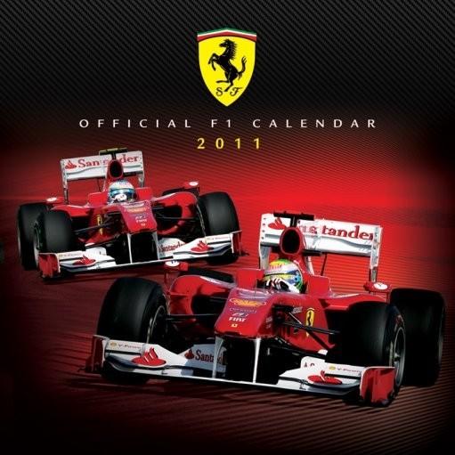 Kalendar 2011 - FERRARI F1 Kalendarz 2017