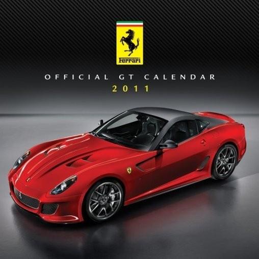 Kalendar 2011 - FERRARI Kalendarz 2017