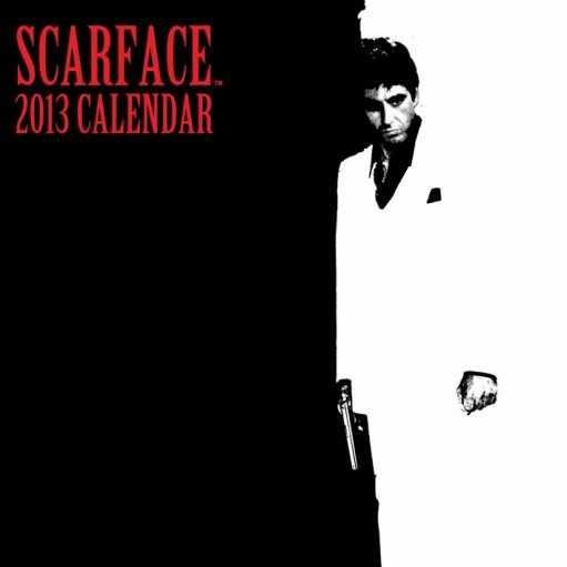 Kalendarz 2013 - CZŁOWIEK Z BLIZNĄ  Kalendarz 2017