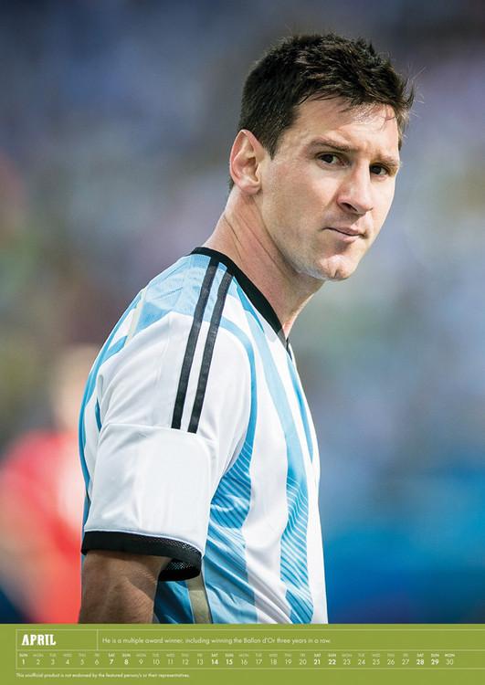 Lionel Messi Kalendarz 2018