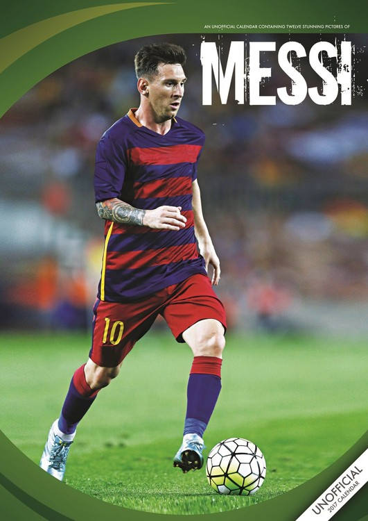 Messi Kalendarz 2017