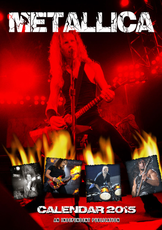 Metallica Kalendarz 2017