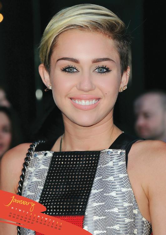 Miley Cyrus Kalendarz 2018