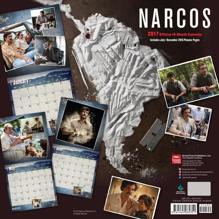 Narcos Kalendarz 2018