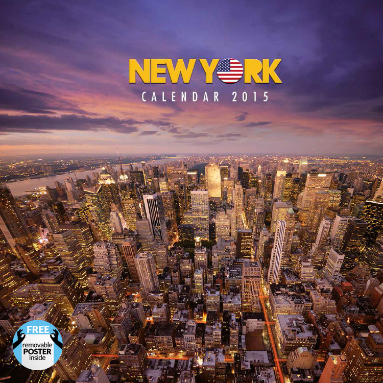 New York Kalendarz 2017