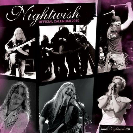 Official Calendar 2010 Nightwish Kalendarz 2017