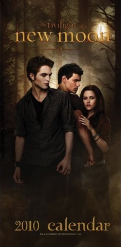 Official Calendar 2010 Twilight New Moon 16x35 Kalendarz 2017